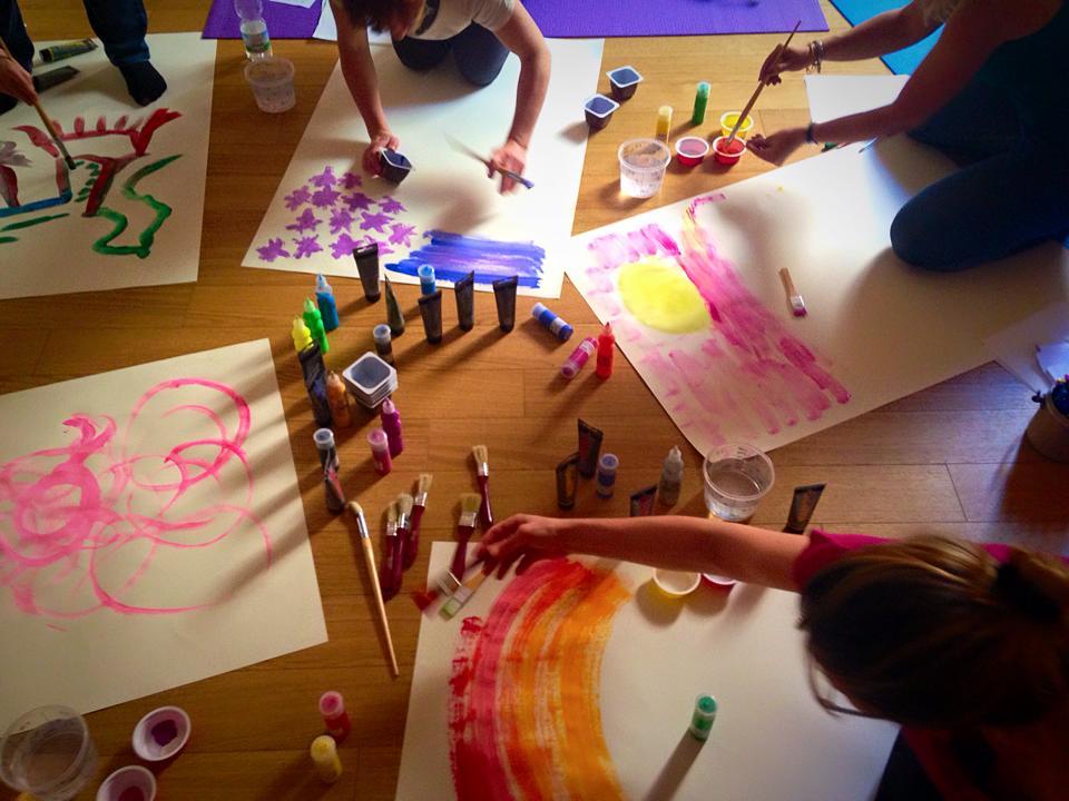 Laboratorio di disegno e pittura libera