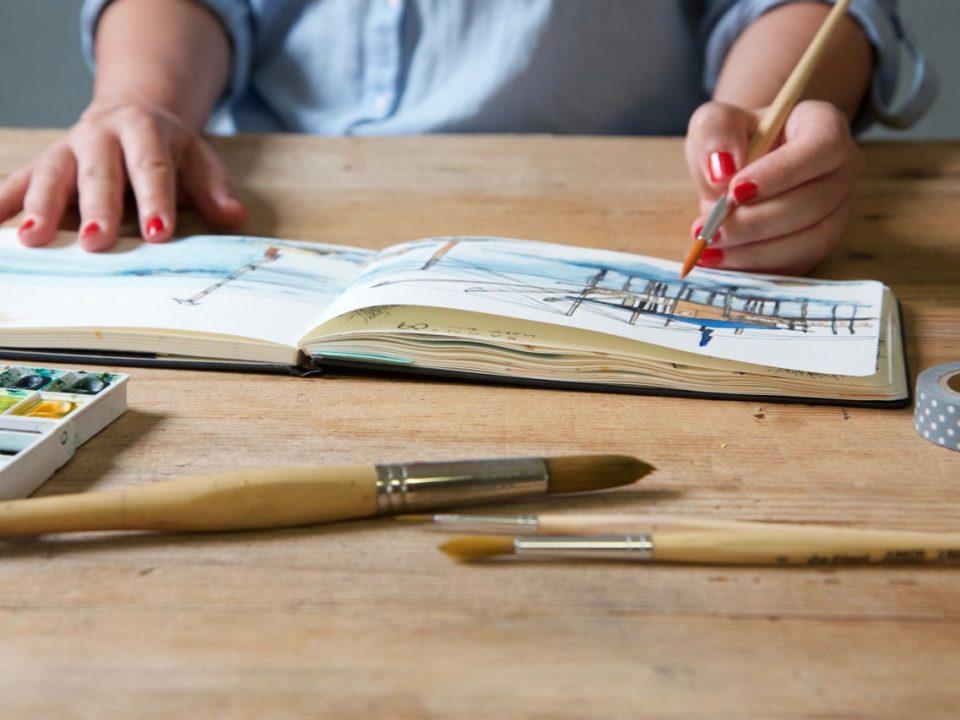 Laboratorio di disegno e pittura per coltivare la creatività